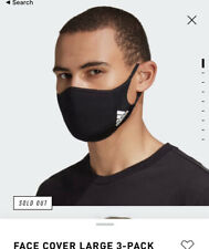 Adidas Facemask Face-Cover 3 Pack