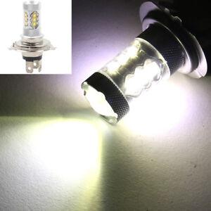 H4 Socket 80W Motorcycle Bike LED Headlight Bulb High Low Beam Front Light Lamp