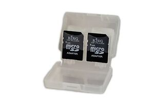 SD/SDHC 8 in 1 Memory Card Storage Case Holds 8 SD Cards or 4 Micro SD & 4 SD/HC