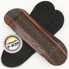 Peoples Republic - 30mm Wooden Fingerboard Deck - Ebony