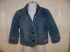 Osh Kosh B'Gosh Jean Jacket Size 4T Girl's EUC FREE USA SHIPPING