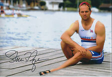 Steve REDGRAVE 12x8 Signed Photo Autograph AFTAL COA Rowing Sports Personality