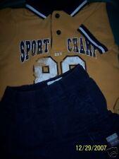 EUC  TCP Children's Place Polo Shirt & Short Set 6-9 Mo