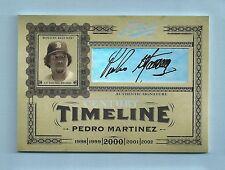 Pedro Martinez 2005 Playoff Prime Cuts Siglo Timeline Autógrafo Auto #5/5