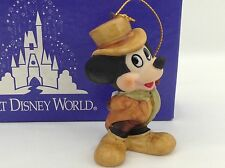 Christmas Ornament - Mickey Mouse Walt Disney World Top Hat with Original Box