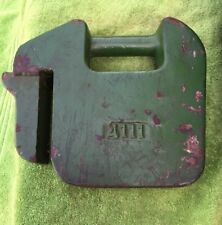 USED JOHN DEERE 42 POUND SUITCASE WEIGHT FOR LAWN TRACTORS
