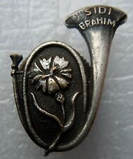 Insigne boutonnière CHASSEURS ALPINS/A PIED 1939 WWII Amicale SIDI BRAHIM