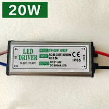 20W Led Driver Transformer Power Supply Waterproof 110~240V TO 21~38V IP65