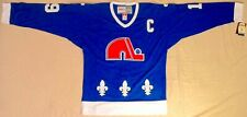 1988 Joe Sakic Quebec Nordiques Blue Jersey Size Men's Large