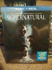 Supernatural The Complete Fourteenth Season (Blu-Ray, 2019, 3Discs) w/slipcase