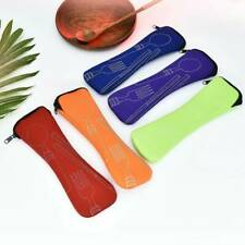 Recyclable Tableware Zipper Cutlery Pouch Bag for Outdoor Camping Travel Goodish