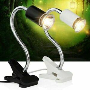 75W Tortoise Curved light UVB heating lamp Light Holder+UVB Lamp 3.0 UK Plug