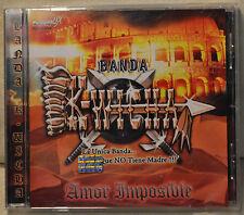 Banda K-Wicha Amor Imposible CD Latin Spanish Son de la Negra Estos Relos Cruda