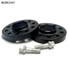 2X 20mm Mercedes Benz Black Wheel Spacers for W208 W209 W210 W211 W212 and Audi