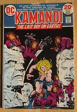 "DC Comics ""KAMANDI"" THE LAST BOY ON EARTH  # 8, Photos Show Condition"