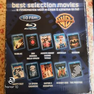 Cofanetto 10 Film Blu-Ray