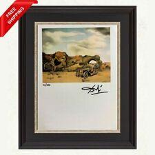 Salvador Dali - Paranoic Critical Solitude, Original Hand Signed Print with COA