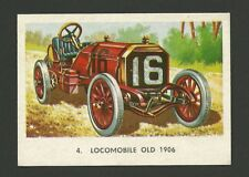 Locomobile Old 16 1906 Vintage Car Collector Trading Card from Spain