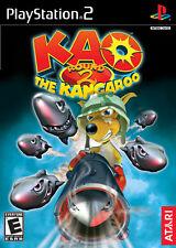 KAO THE KANGAROO: ROUND 2 ( JEUX PLAYSTATION 2 ) NO MANUAL