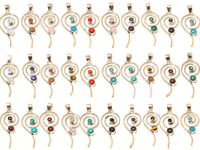 Stylish Wholesale Lot 925 Silver Plated 10Pcs Pendant Gemstone Jewelry