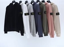 Men Women StoneIsland Hoodies Unisex Adults Pullover Sweatshirt Hooded Tops UK
