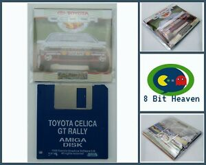 TOYOTA CELICA GT RALLY BY GREMLIN FOR COMMODORE AMIGA - TESTED & WORKING