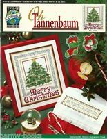 Oh Tannenbaum Christmas Tree Ornaments True Colors Cross Stitch Patterns NEW