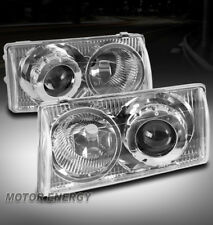 FOR 97-04 CHEVY CORVETTE C5 Z06 PROJECTOR HEADLIGHTS HEADLAMPS CHROME LEFT+RIGHT