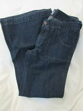 """Ladies """"Old Navy"""" Size 8 (W32 X L31), Blue, """"The Diva"""" Flare Leg Jeans"""