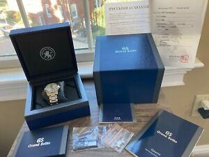 Grand Seiko Heritage Silver 9F Quartz Men's Watch Ref. SBGX263