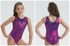 Gk Elite Free Fall Gymnastics Leotard Child & Adult Sizes New With Tags