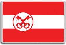 Netherlands, Leiden city flag fridge magnet