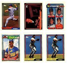 1992 TOPPS BASEBALL Key cards, U-Pick for $1.95 each, NM/M.