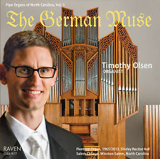 NEW! The German Muse: Timothy Olsen Plays 1965/2013 Flentrop, Salem College, NC