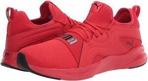 Men's Shoes PUMA SOFTRIDE RIFT BREEZE Running Athletic Sneakers 19506704 RED