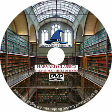 The Harvard Classics Edited by Charles W. Elliot 51 Volumes on DVD pdf CD eBook
