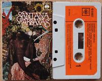 SANTANA - ABRAXAS (CBS 4064087) 1970 UK CASSETTE TAPE PSYCH ROCK CARLOS