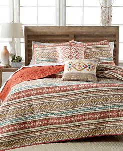NEW Martha Stewart Bedding Silver City Stripe Cotton STANDARD Sham $60 i348