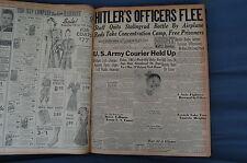 WW2 NEWSPAPER January 14 1943 Hitlers Officers Flee Stalingrad Battle BNP NWS