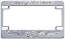 Harley-Davidson Kennzeichenrahmen für US-/FR-Kennzeichen, Strass *MF596061*