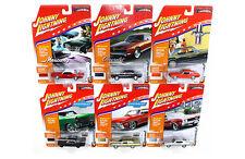 JOHNNY LIGHTNING 1:64 MUSCLE CARS USA 2016 RELEASE 2D DIECAST CAR SET JLMC002D