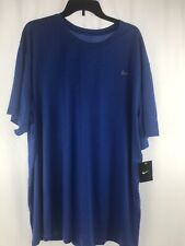 Nike Men's Dri-Fit Shirt Size 4Xl Blue