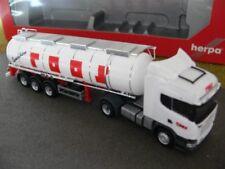 1/87 Herpa 302661 Scania R Highline Tank-Sattelzug Roos*