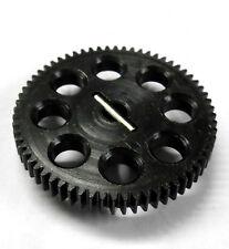 Modulo 0.6 0.6M 64T 64 DENTI DENTE METAL GEAR EP 1/10 Nero 9mm Wide 11184