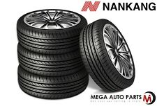 "4 X New Nankang NS-20 ""Noble Sport"" 225/40R18 92H XL AS High Performance Tires"