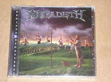 MEGADETH - YOUTHANASIA - CD REMASTERED SIGILLATO (SEALED)