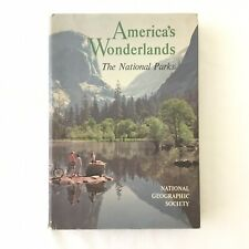 America's Wonderlands The National Parks National Geographic 1959 With Map