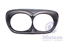 Mutazu Bad Boy Black Pearl Headlight Bezel Scowl For Harley Road Glide FLT 98-13