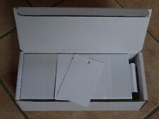 250 Plastikkarten Rundlochstanzung an der kurzen Seite, PVC Karte, Magnetkarten