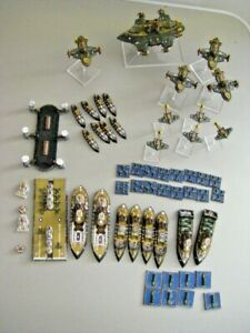 Dystopian Wars RoF / FCoA fleet - with many large flying things - well painted